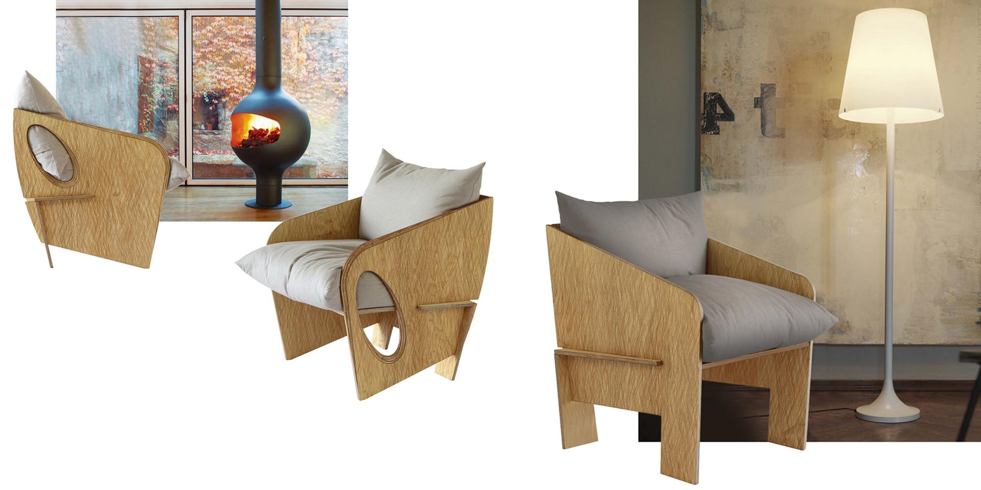 Poltrone e divani in legno | Radiko